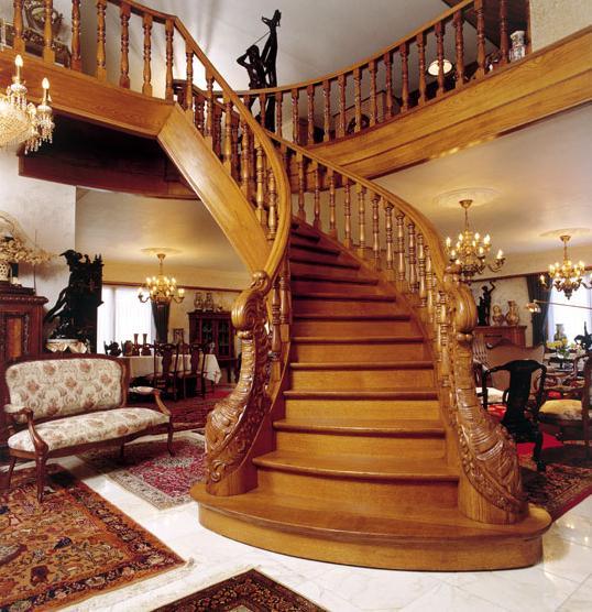 Процесс изготовления лестниц
