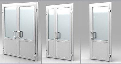 Двери ПВХ — практичное и комфортное решение