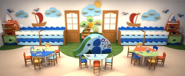Правильная мебель для уютных детских садов