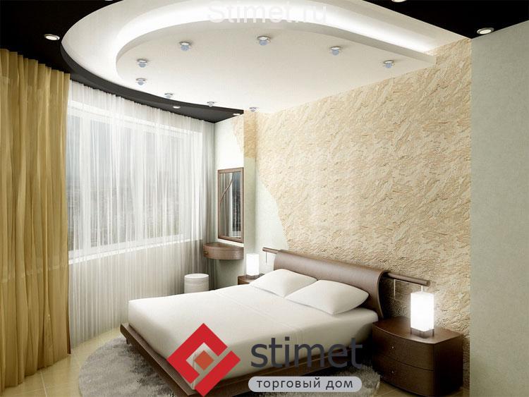 Способы освещения спальной комнаты