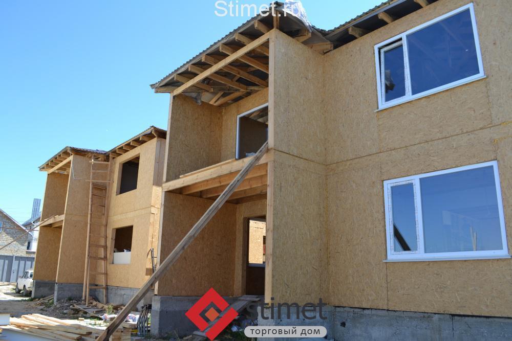 Каркасный дом из СИП-панелей