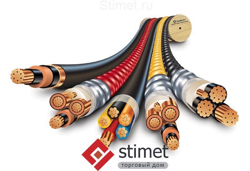 различных типов кабеля