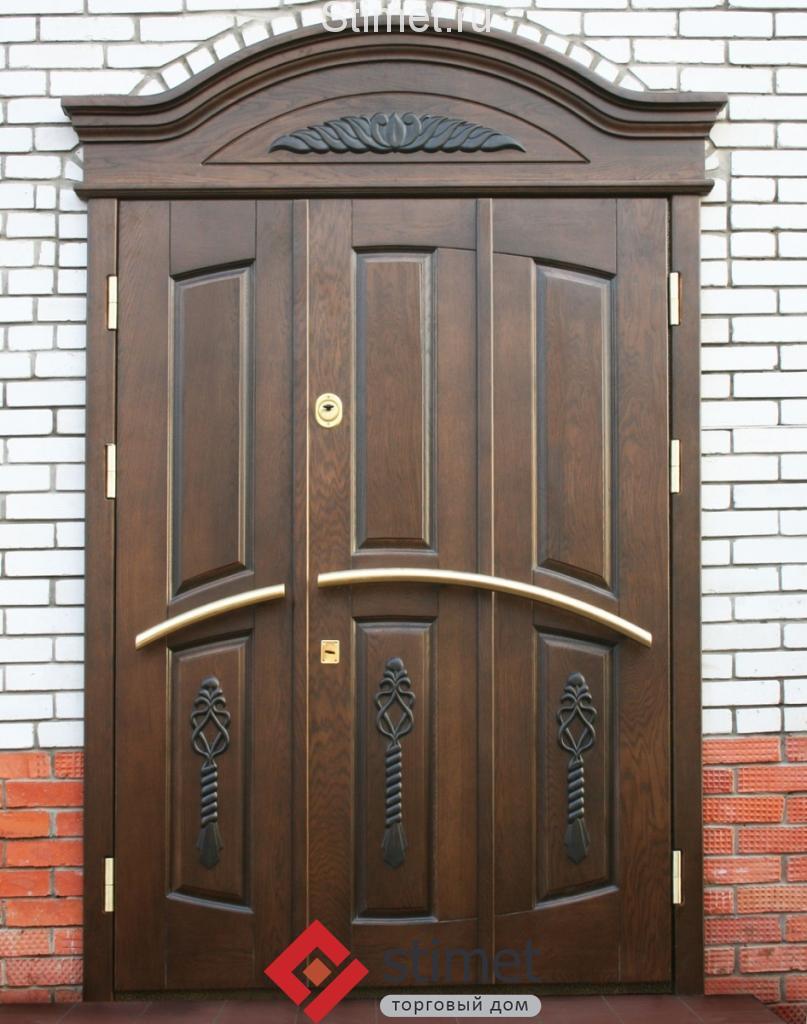 Отличие элитных входных дверей