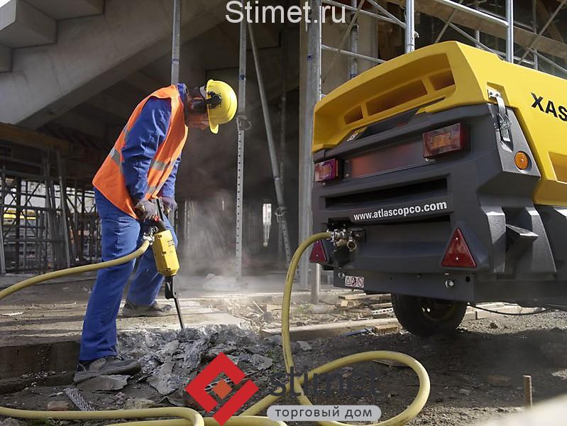 Компрессор с бетоноломами