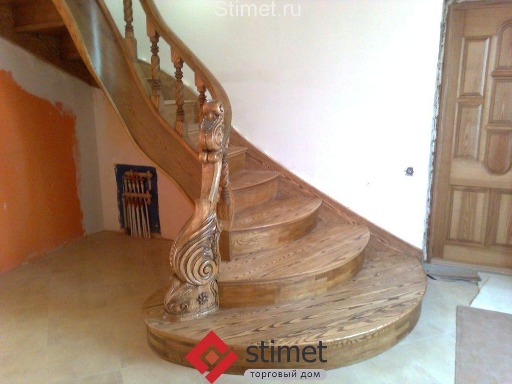 Как покрасить деревянную лестницу