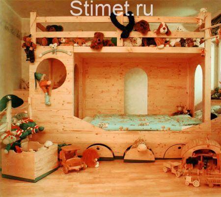 Преимущества мебели из древесного массива