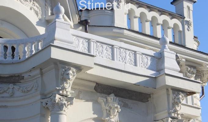 восстановлении архитектурных объектов